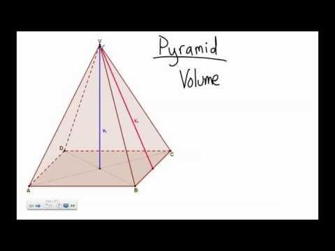 Rectangular Pyramid Volume Problems