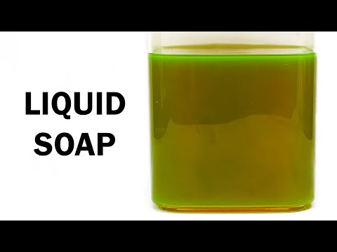 Making Liquid Soap