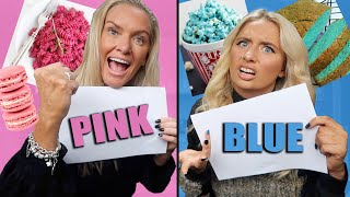 Who can make the best meal using only ONE colour!! Mum VS daughter