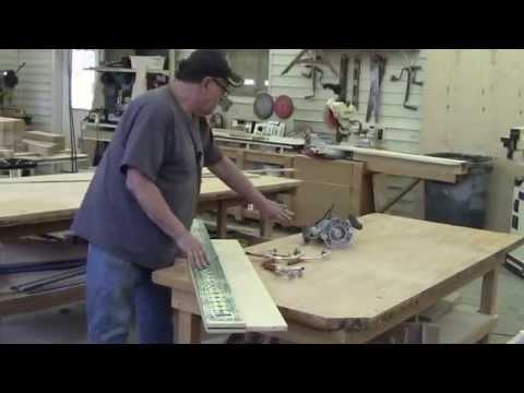 Unique!!! Making Adjustable Shelf Pin Holes