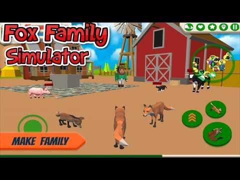 🦊Fox Family   Animal Simulator 3d Game-  By CyberGoldfinch