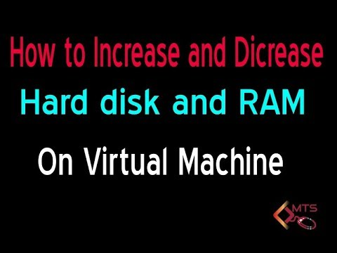 Hindi || How to Increase and Decrease || Hard disk In Virtual  Machine || VMware