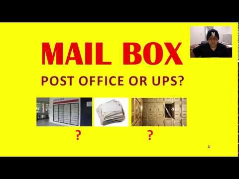 Renting a PO Box at a Post office or at a UPS store? NIK NIKAM