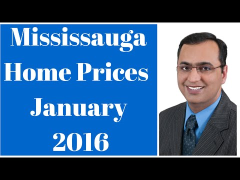 Home Prices In Mississauga - January 2016