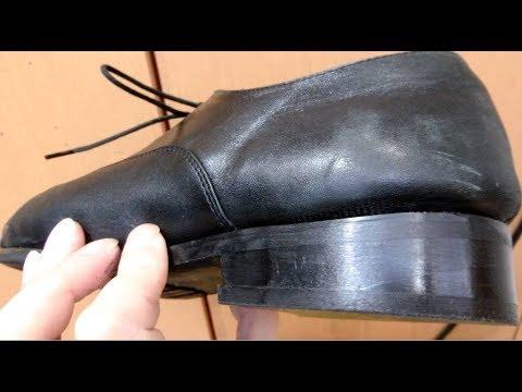 How to heel repair of shoes 革靴のかかとを修理してみた