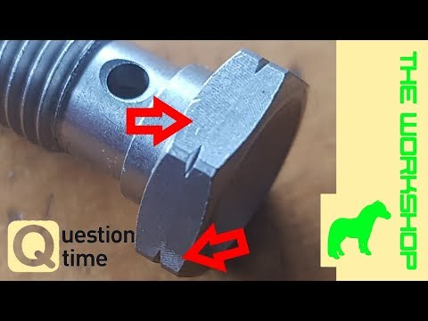 Banjo bolt notches - and why they are...
