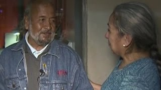 Homeless man and sister reunited after 40 years