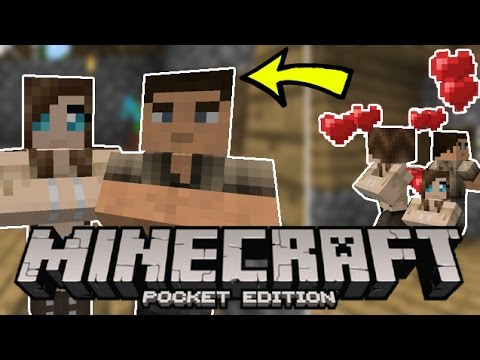 Minecraft Pocket Edition Villagers Come To Life!