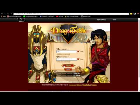 Dragonfable Gold hack (Cheat engine 6.5)