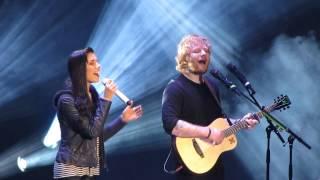 Christina Perri And Ed Sheeran Singing Be My Forever