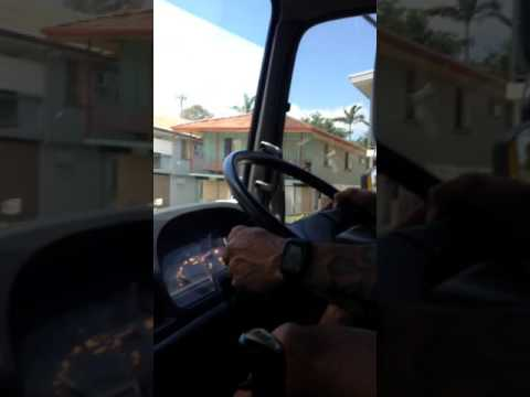 How To Reverse A Truck Around A Corner