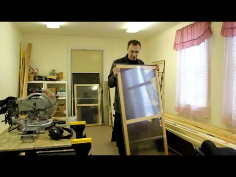 Making Storm Windows, Introduction: The Storm Window Project