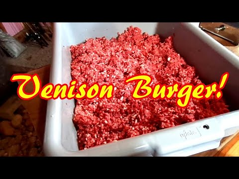 How To Make The Best Venison Burgers