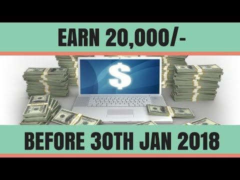 Earn RS. 20,000/- in a month - Zero Investment | Make money Online