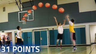 OMG I SCORED 31 POINTS! BASKETBALL SEASON!