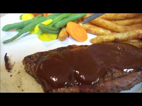 My Sirloin Steak Dinner at Valenza's Italian Restaurant