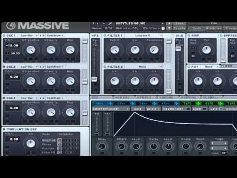 How To Make A Blip Synth In Massive