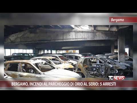 Bergamo, incendi al parcheggio di Orio al Serio: 5 arresti