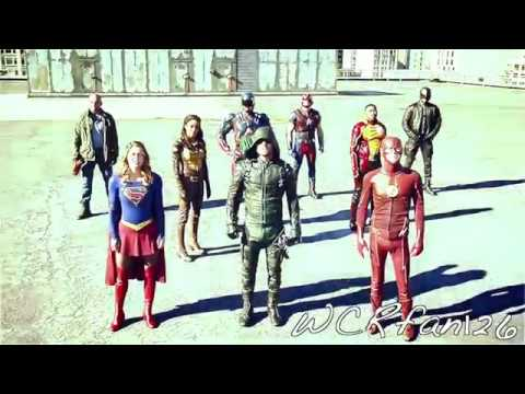 ➤i can make your hands clap {the cw-heroes vs aliens}