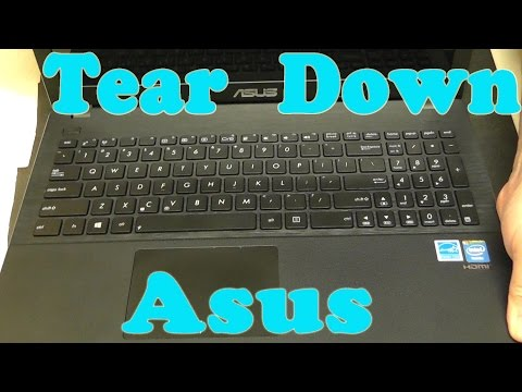 Asus x551c Tear Down - Hard Drive, Keyboard, Palm Rest