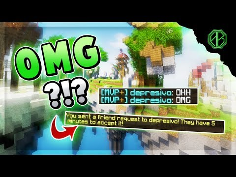 FINDING THE NICEST KID? [I friend him!] ( Hypixel Skywars )