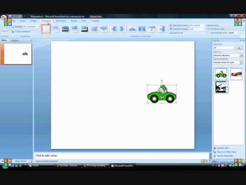 how to move a picture on powerpoint