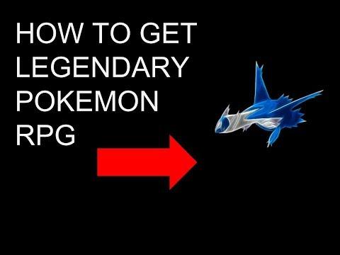 Pokemon Rpg how to find legendary (Deluge Rpg)