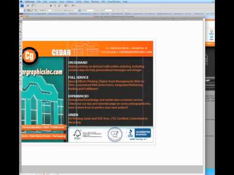 Active Preflighting in InDesign and PDF Export Using Cedar Presets