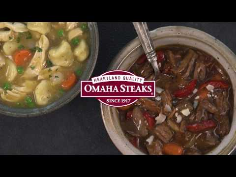 Crock-Pot® Slow Cooker Meals, an Omaha Steaks Exclusive