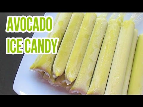 Avocado Ice Candy Filipino Summer Treat