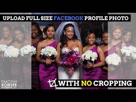 Upload Full Size Facebook Profile Photo with No Cropping... Friends Don't Let Friends Square Crop