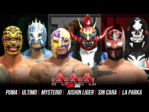 WWE RAW 2K15 : Sting, John Cena & Dudley Boyz vs Seth ...