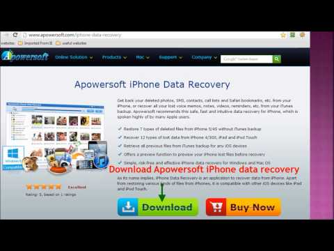 Fastest way to recover deleted photos from iPod touch