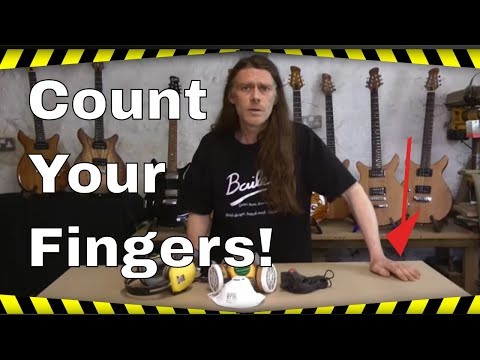 Build Your Own Guitar - Count Your Fingers!