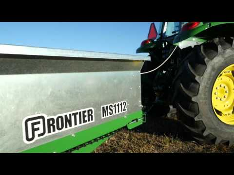 John Deere Frontier Equipment: Notes From The Field - How to use a manure spreader