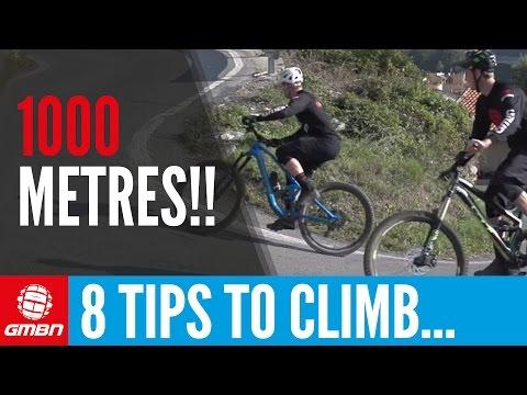 Make Climbing Easier: 8 Tips To Climb 1000 Metres On Your Mountain Bike