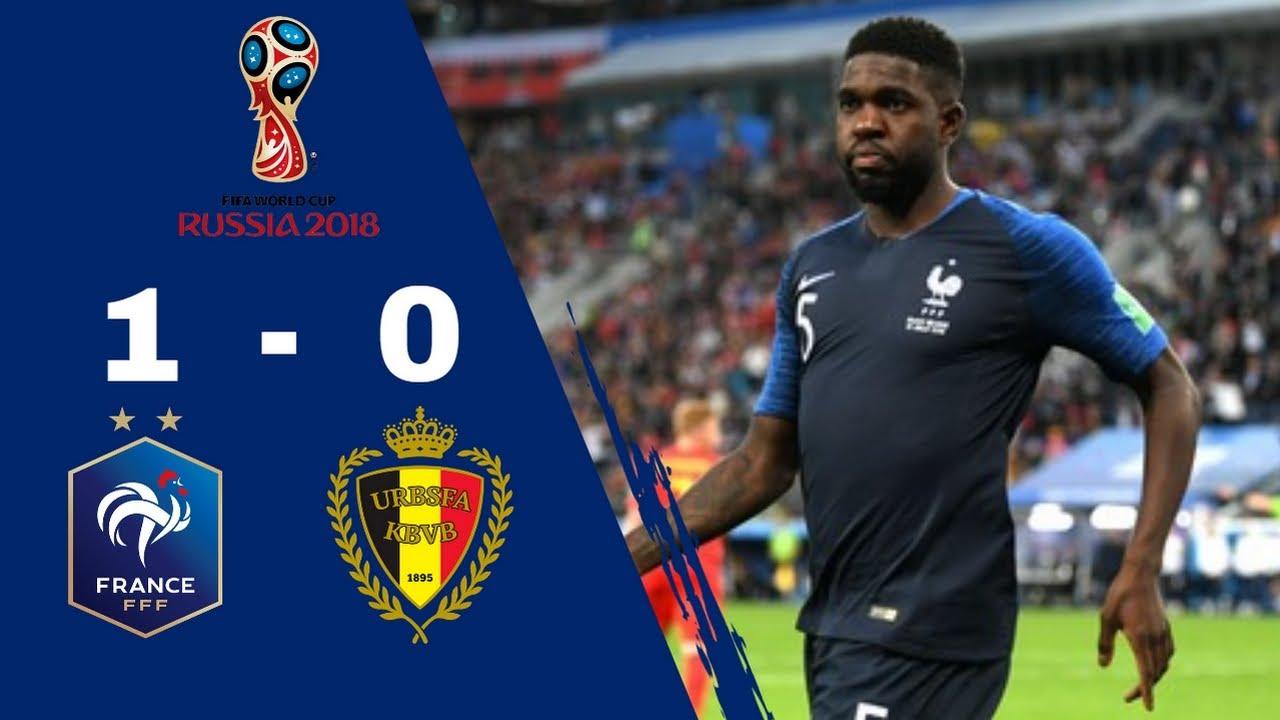 Résumé FRANCE 1 - 0 BELGIQUE   Demi finale   Coupe Du Monde 2018 [HD] [TF1]