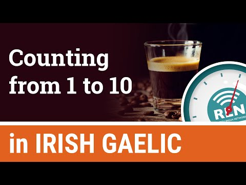 How to count from 1 to 10 in Irish - One Minute Irish Lesson 8