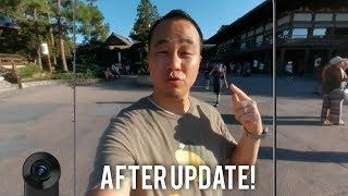 Moto Z2 Force 360 Camera Mod 4K Video // Software Update!