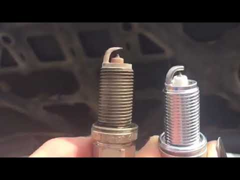 Changing spark plugs 2008 Toyota Tacoma 4-cylinder