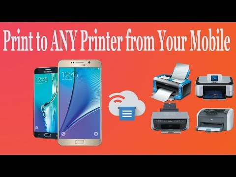 How to Print from Any Printer in Android Phone | without wifi Printer | Google Cloud Print (Part-1)