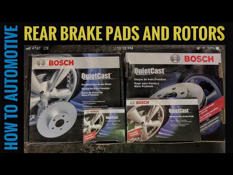 How to Replace the Rear Brake Pads and Rotors on a 2001-2006 Toyota Camry (Sponsored by Bosch)