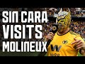 SI SENOR WWE SUPERSTAR SIN CARA WATCHES RAUL JIMENEZ AS WOLVES BEAT FULHAM
