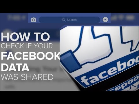 Was your Facebook data shared? Here's how to check (Tech Minute)