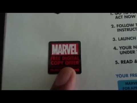 Marvel Digital Comic Code Rant