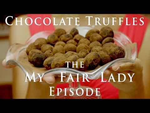 How to make Chocolate Truffles - My Fair Lady