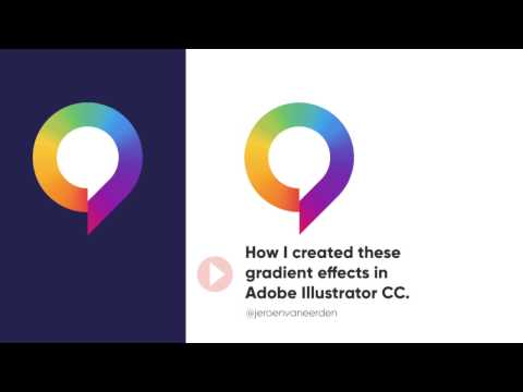 How to Create a Smooth Gradient Effect in Adobe Illustrator CC.