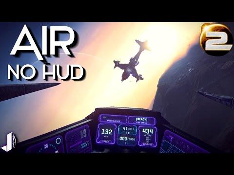 AIR - No HUD Dogfighting Planetside 2
