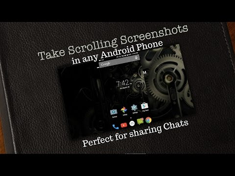 How to Take Long Screenshots in Android | Scroll Capture
