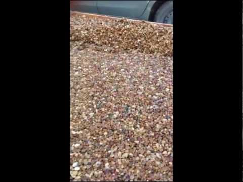 How to repair your concrete steps with Pebble Stone Flooring